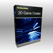 2D Video Game Creation - Developer Create PC App Application NEW Software