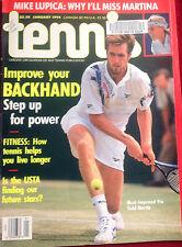 'Tennis' US Tennis Magazine - January 1994 - Excellent Vintage Condition.
