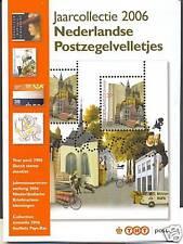 Officiele TNT jaarcollectie Ned postzegelvelletjes 2006