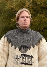 Ulfberth Bischofskragen RM Kettenkragen mit Lederriemen Schnallen Kettenrüstung