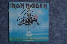 Iron Maiden - Seventh Son of a Seventh So CD Album signed / autograph / signiert