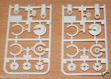 Tamiya 58596 Dual Ridge/TT-02B/TT02B MS/DF03, 9224038/19224038 X Parts (2 Pcs.)