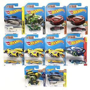 10x Hot Wheels Treasure Hunt Cars 2013- 2015 Various Conditions