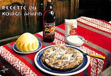 Postcard recipe kitchen emilie Bernard kouign Amann 1975?