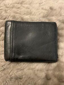 Fossil Black Wallet Mens
