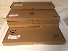 Lot of 10 Genuine BRAND NEW DELL Slim Quiet Keyboard USB KB216-BK-US BLACK