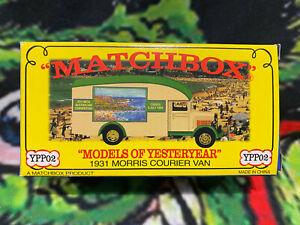 Matchbox Models of Yesteryear 1931 Morris Courier Van YPP02 1999 MICA Code 2