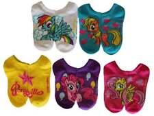 Child My Little Pony 5 pk No Show Socks Applejack Fluttershy Rainbow Dash 6-8.5