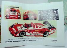 Kit Starter 1/43  -  PORSCHE KB F.A.T N°4 LE MANS 1995