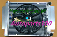 For Mazda radiator+Fan RX2 RX3 RX4 RX5 RX7 with heater pipe Manual