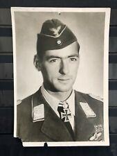 GERMANY, THIRD REICH, POST CARD OF WW2 GENERAL DIETRICH PELTZ, MINT