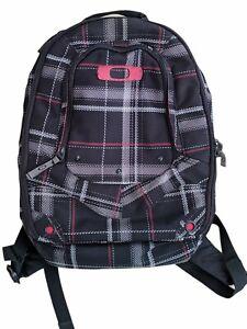 oakley backpack Black Red White