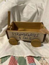 Boyds Bear Wagon Strawbearies 4 Sale