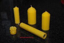 Velas de té color principal amarillo para el hogar