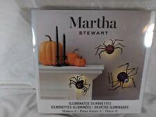 Martha Stewart Crafts® Halloween Spider Decorations: 3 pieces  w/ led lights