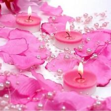 Guirlande De Perles 1,30 m Rose Marine  Décoration Mariage Baptême Fête  Ref BD