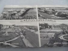 Weston Super Mare SILVERESQUE VALENTINE'S 3059v  POSTCARD VINTAGE GOOD CONDITION