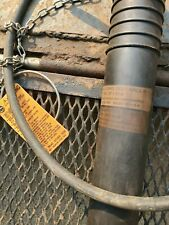"Cherne 3"" Long Test Ball Pipe Plug w/ 3' Inflation Extenstion, Ring & Chain"