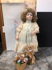 Danbury Mint Victorian Children Goldie 21� Porcelain Doll
