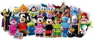 LEGO 2016 DISNEY MINIFIGURES SERIES 1 COMPLETE SET OF 18 VERIFIED UNASSEMBLED