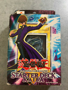 Yugioh Starter Deck Kaiba Edition Factory Sealed Unopened English Version 1996
