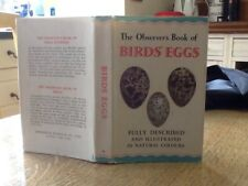 Observers Book Of Birds eggs 1969
