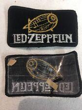 True Vintage Original Rare Velvet Led Zeppelin Patch Pre-1994 (mp53)