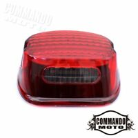 Red LED Taillight Rear Tail Lamp Light For Harley Sportster XL 883 1200 Fat Boy