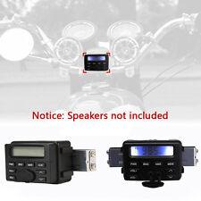 Motorcycle Audio Radio FM MP3 Stereo Sound System Waterproof Fit Suzuki Yamaha