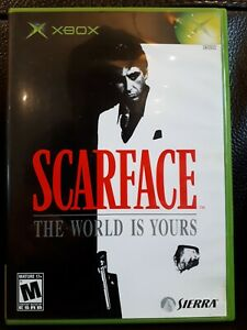 Scarface: The World is Yours (Microsoft Xbox, 2006) plays perfectly