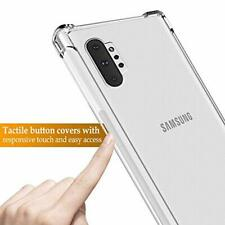 Samsung Galaxy Note 10 Plus Clear Case Ultra Slim Anti Scratch Cover Soft TPU