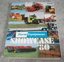 1980 Farm Equipment Showcase Farming Industry Tractor Machinery Publication
