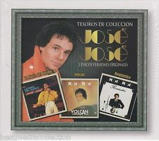 SEALED - Jose Jose CD Tesoros De Coleccion La Nave Del Olvido 3 Discs BRAND NEW
