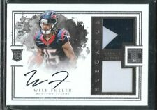 2016 Impeccable Elegance Will Fuller Auto 2 Color Patch Rc Srl# 62/75 Texans