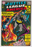 JUSTICE LEAGUE OF AMERICA 51 (1967) Early ZATANNA cover; FN - 5.5