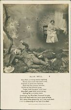 BLUE BELL: Bamforth Real Photograph Song Cards QS.848