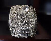 NO YEAR Fantasy Football Ring Championship Trophy League FFL Award +Display Case