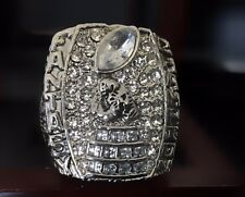 Fantasy Football Championship Trophy Ring League Champion Award +Display Case
