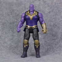 6'' Avengers 3 Infinity War Comic Hero Movable Joints Thanos Action Figure Toy