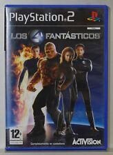 LOS 4 FANTASTICOS - PLAYSTATION 2 - PAL ESPAÑA