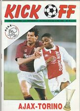 Orig.PRG   UEFA Cup 1991/92  FINALE   AJAX AMSTERDAM - FC TURIN  !!  SEHR SELTEN