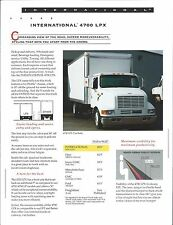 Truck Brochure - International - 4900 LPX - Pickup Delivery (T1837)