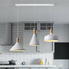 1 Set Modern Pendant Light Kitchen Chandelier Lighting Bar White Ceiling Lights