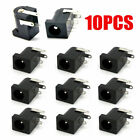 10x 5.5mm x 2.1mm DC Power Supply Jack Socket Female PCB Mount Connector