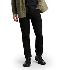 Levi's 163943 Men's 513-Slim Straight Black Jeans Sz. W33 L 32