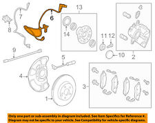 MERCEDES OEM 12-18 CLS550 Brake-Front-Wear Indicator Harness Right 2125401605