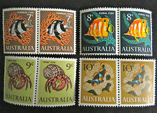 1966 Australian Stamps - Fish Complete Set x 2 - MNH