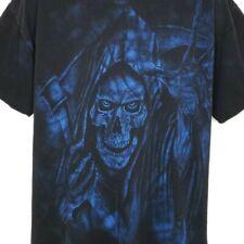 Custom Cycles Accessories T Shirt Vintage 90s Grim Reaper Biker Las Vegas 2XL