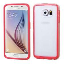 Étuis, housses et coques rouge transparent en silicone, caoutchouc, gel pour téléphone mobile et assistant personnel (PDA)