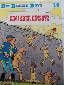 Die blauen Boys 14 Ein irrer Einsatz 1. Auflage 1995 Carlsen Comics